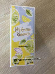Туалетная вода Yves Rocher My Green Summer 100 ml