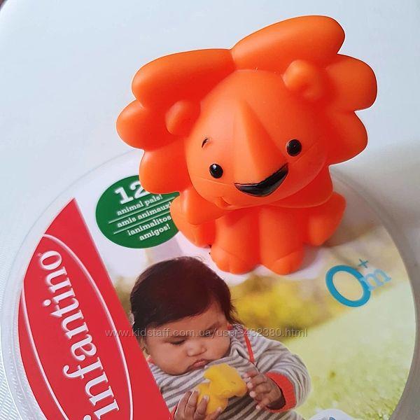 Игрушка резиновая для купания Infantino в ассортименте, от 0мес.