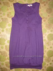 Нарядное платье фиолетового цвета