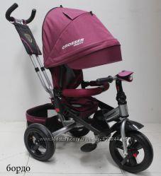 Азимут Кроссер Т-400 детский велосипед Crosser надувные колёса