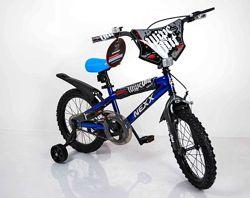 Двухколысный велосипед 16 дюймов Сигма Некст Бой детский Next Boy синий