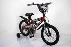 16 дюймов детский велосипед Sigma Next Boy двухколёсный красный Некст Бой