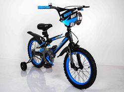 Велосипед 16 дюймов Sigma Next Boy детский двухколёсный Некст Бой голубой