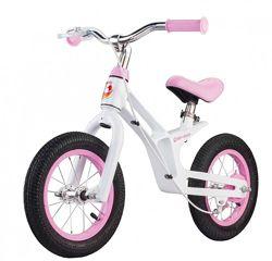 Беговел MG-baby 18A детский 12 дюймов розовый для девочки