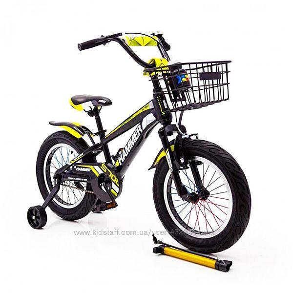 Детский велосипед 16 дюймов HAMMER S700 двухколёсный Хаммер