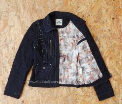 куртка курточка демисезонная с заклепками, размер S-М, байкерская