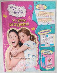 Журнал с наклейками, Виолетта, Violetta, Мартина Штоссель, Дисней