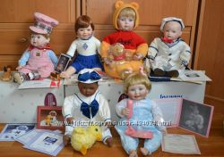 Фарфоровая кукла Эштон Дрейк. Подарок, коробка