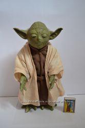 Подарок Звездные войны Йода, большой озвучен
