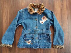 Джинсовая куртка ветровка на 5-7 лет