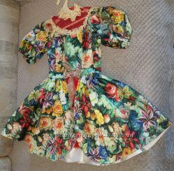 Шикарное, дизайнерское платье Эксклюзив