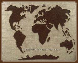 Картина-панно из кофе на заказ