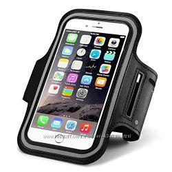 Спортивный чехол для телефона на руку для iPhone 6, 6s