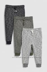 Спортивные штаны-джоггерсы с начесом Next