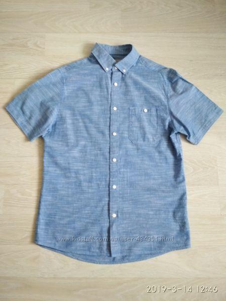 Фирменная рубашка M&S разм. S. Отличное состояние
