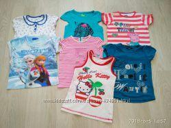 Фирменные футболки TU, Primark, George, M&S, Palomin на 4, 5, 6 лет