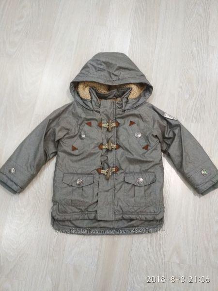 Демисезонная куртка-парка Verbaudet на 3 года рост 94
