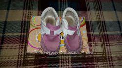 Ботиночки Берегиня отличное качество, 15 см. , для девочки, розовые