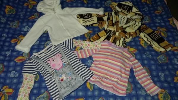 Пакет вещей девочке 2-3 года детальное описание и замеры
