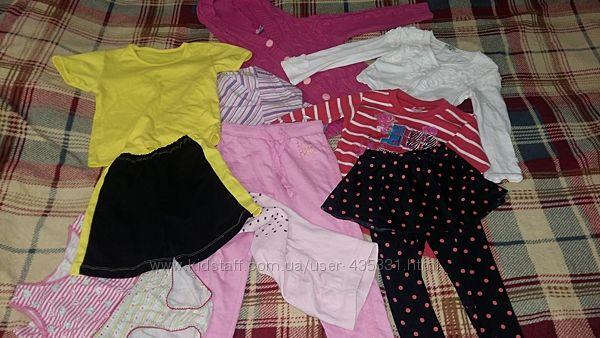Пакет вещей для садика девочке 5-6 лет описания  замеры