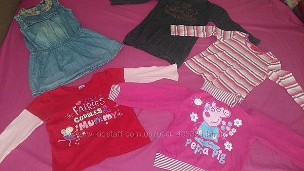 Комплекты одежды для девочки 2-3 года в садик Замеры и описание