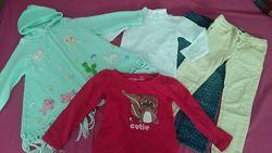 Комплект вещей для девочки 4-5 года для садика супер Описание и замры