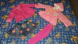 Комплект вещей девочке 9-12 месяцев Детальное описание и замеры