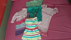 Платья и ромпер для девочки на лето 3-4 года Замеры и описание