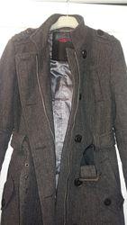 Очень тёплое стильное пальто by s. Oliver. Замеры, размер S