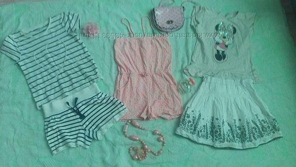 Пакет одежды 4-6 лет для девочки Выбираем Можно микс или по 1 ед. Замеры