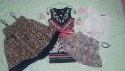 Летние платья и сарафан для девочки 5-6 лет. Замеры Микс или от 1 ед.