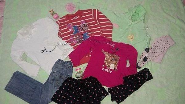 Одежда девочке в садик на 4-5 лет. Можно по 1 ед. Замеры и описание