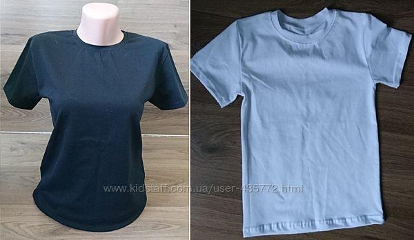 футболки высокого качества белые и черные