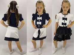 блузы школьные для девочек