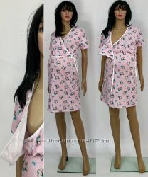 ночные рубашки для беременных  кормящих мам высокого качества