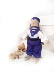 Зайка Моряк матрос морской стиль морская вечеринка море заяц игрушка подаро