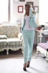 Жакет на подкладке и брюки с карманами