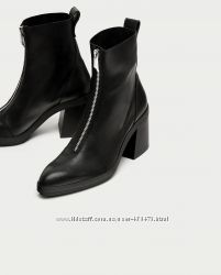 Ботинки ZARA натуральная кожа