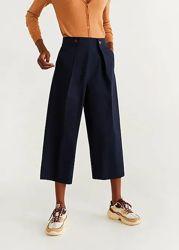Стильные укороченные брюки, из новой коллекции Mango, размер С
