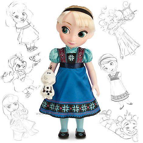 Куклы аниматоры Диснея Эльза СКИДКА