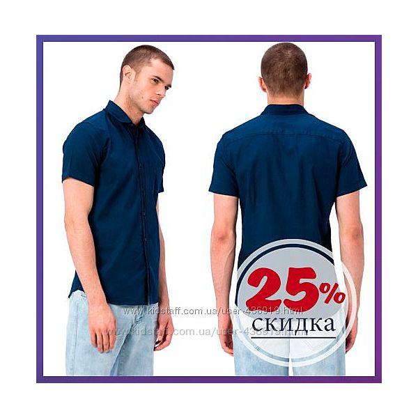 мужские рубашки с коротким рукавом LC WAIKIKI . 20 отзывов