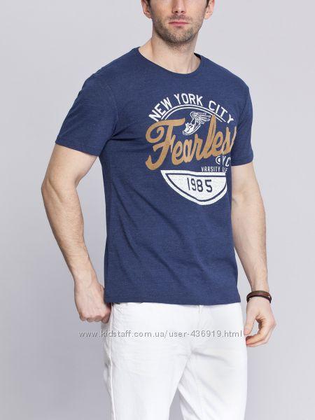 Синяя мужская футболка LC Waikiki New York City
