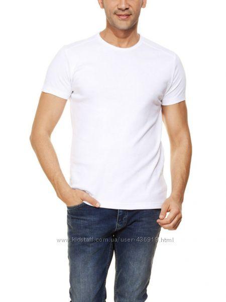 мужская футболка LC Waikiki насыщенно-белого цвета