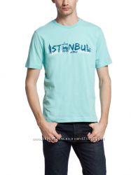 фирменная мужская футболка LC Waikiki насыщенно-небесного цвета Istanbul