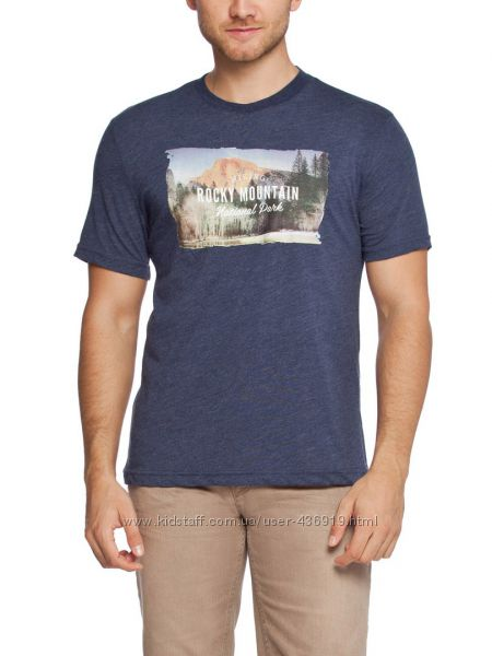 мужская футболка LC Waikiki синего цвета Rocky mountain