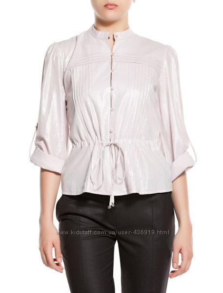 фирменный бело-серебристый пиджак BALIZZA размер 42 L-XL