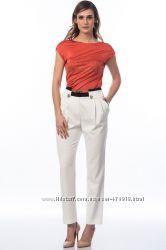 фирменные женские брюки 4G by GIZIA размер 42 L-XL с оранжевым поясом