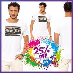 белая мужская футболка LC Waikiki с картинкой и надписью Complexity