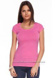 розовая женская футболка De Facto . фирменная Турция