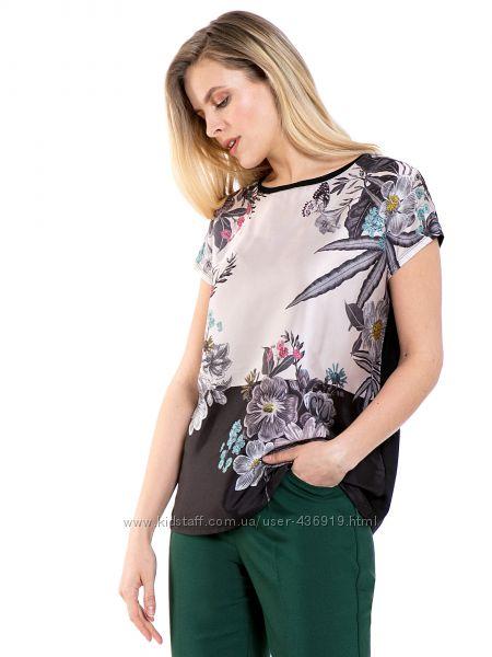 женская блузка Lc Waikiki  Лс Вайкики с цветочным принтом
